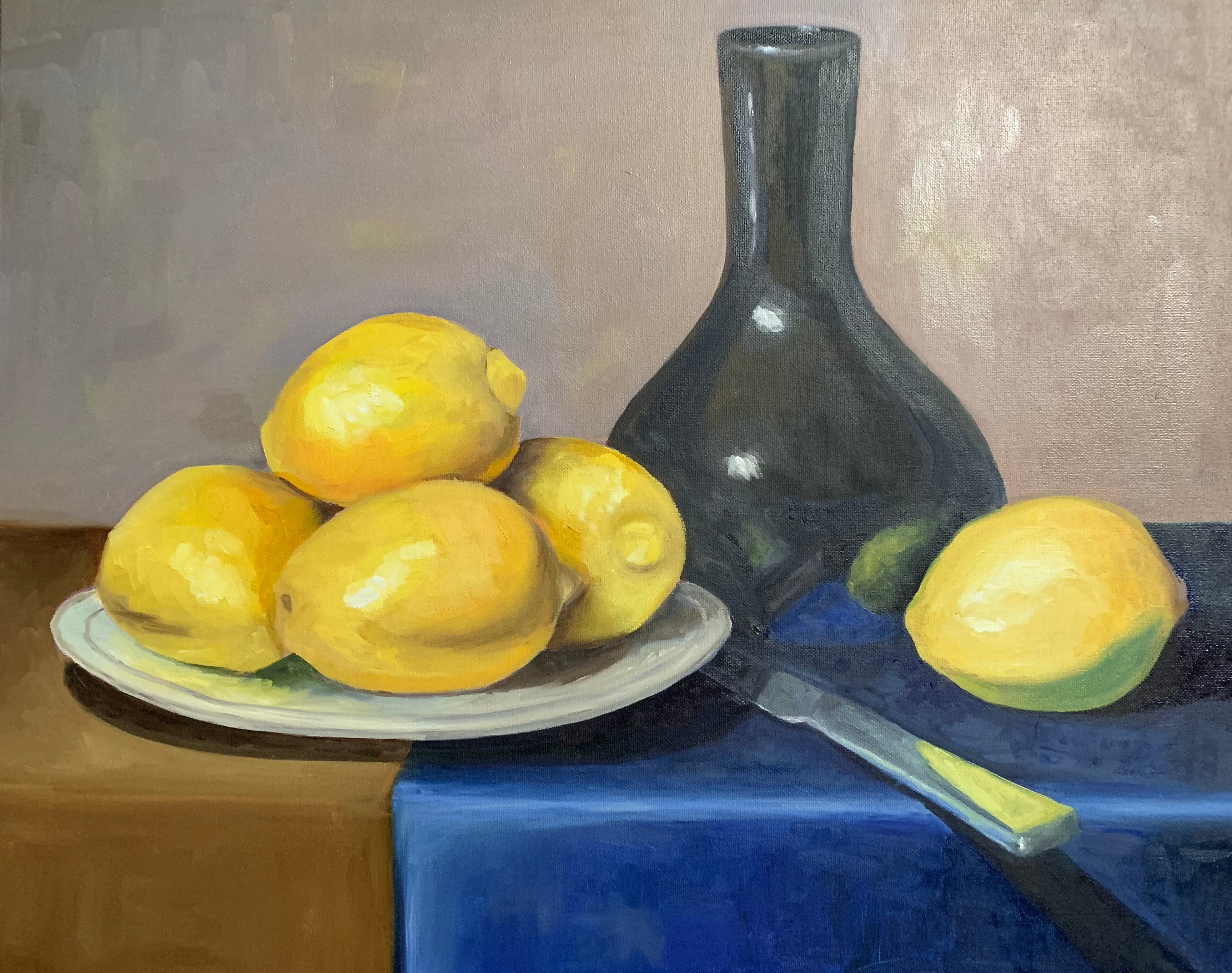 Oil paint on canvas Personal Still Life Study