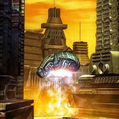 Luca oleastri alien city
