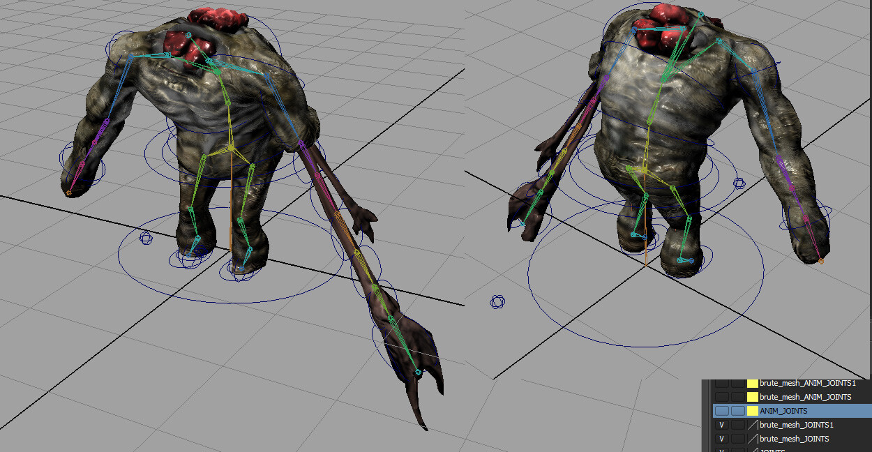 Brute real time model