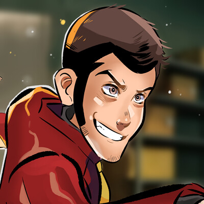 Dylan b caleho lupin the first screenshot redraw