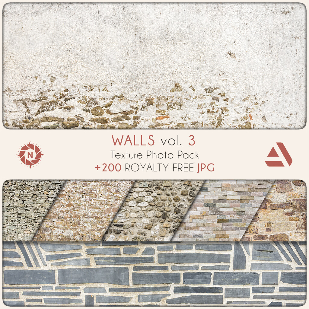 Texture Photo Pack: Walls volume 3  https://www.artstation.com/a/165787