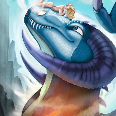 Indra muschallik final dragon girl smaller