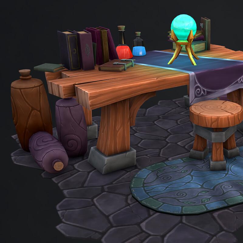 Illthra's Alchemist Table