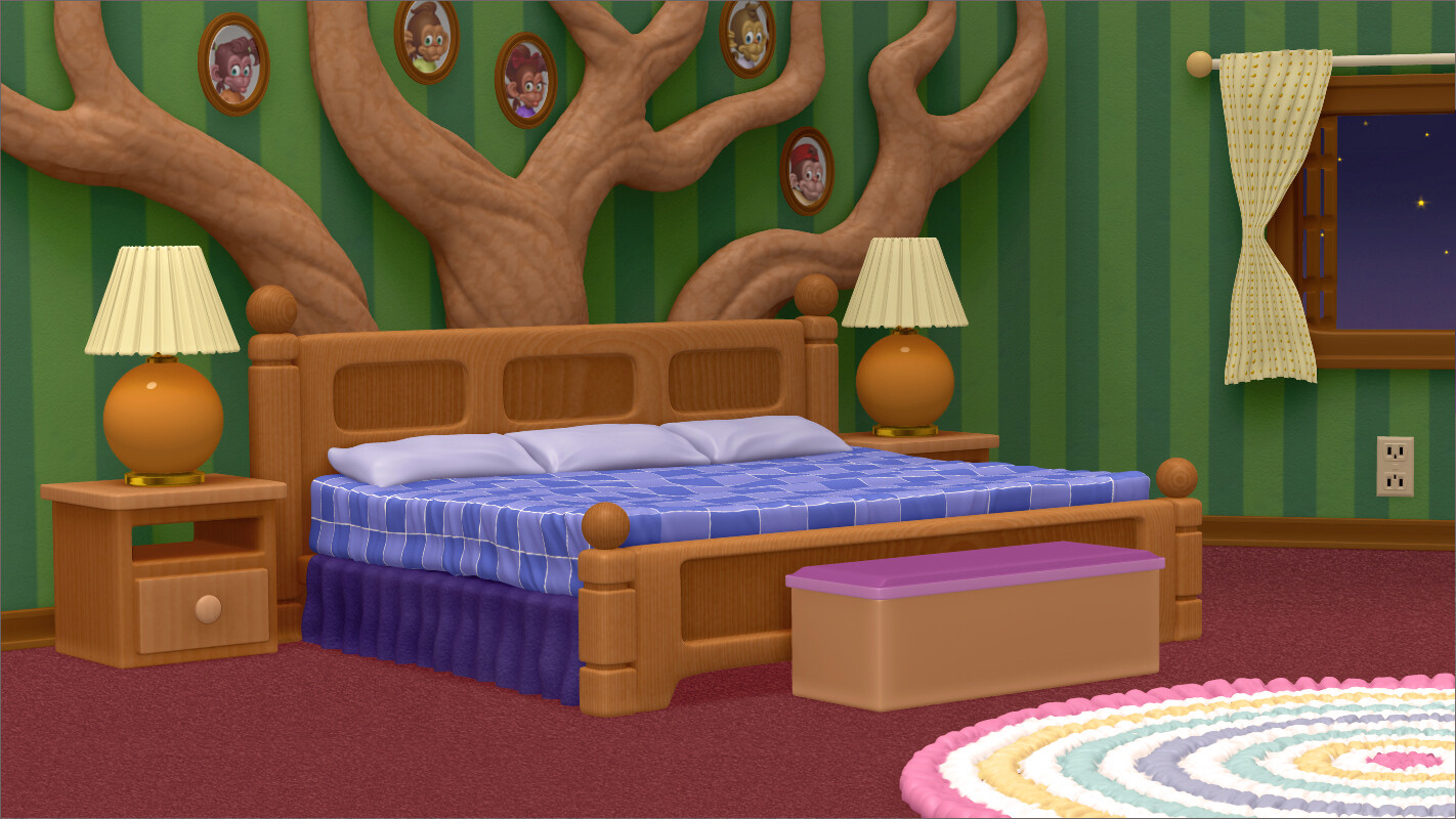 Wolf Tales: Kid's Room Concept
