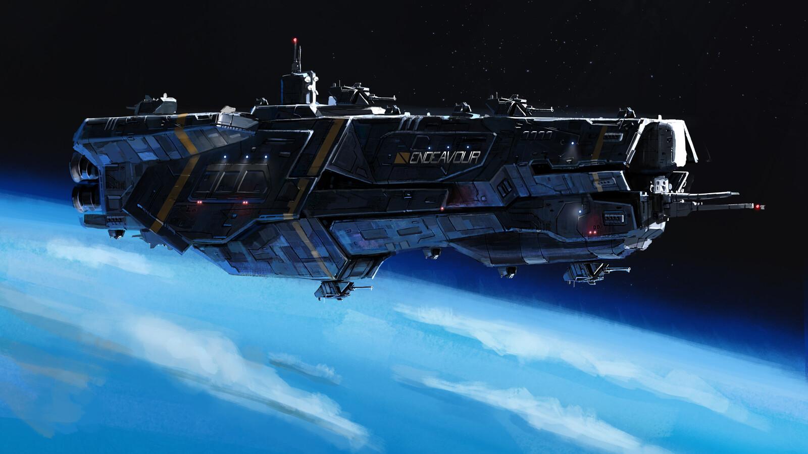 endeavor class cruiser