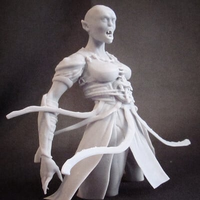 Queen of The Damned 3D Print