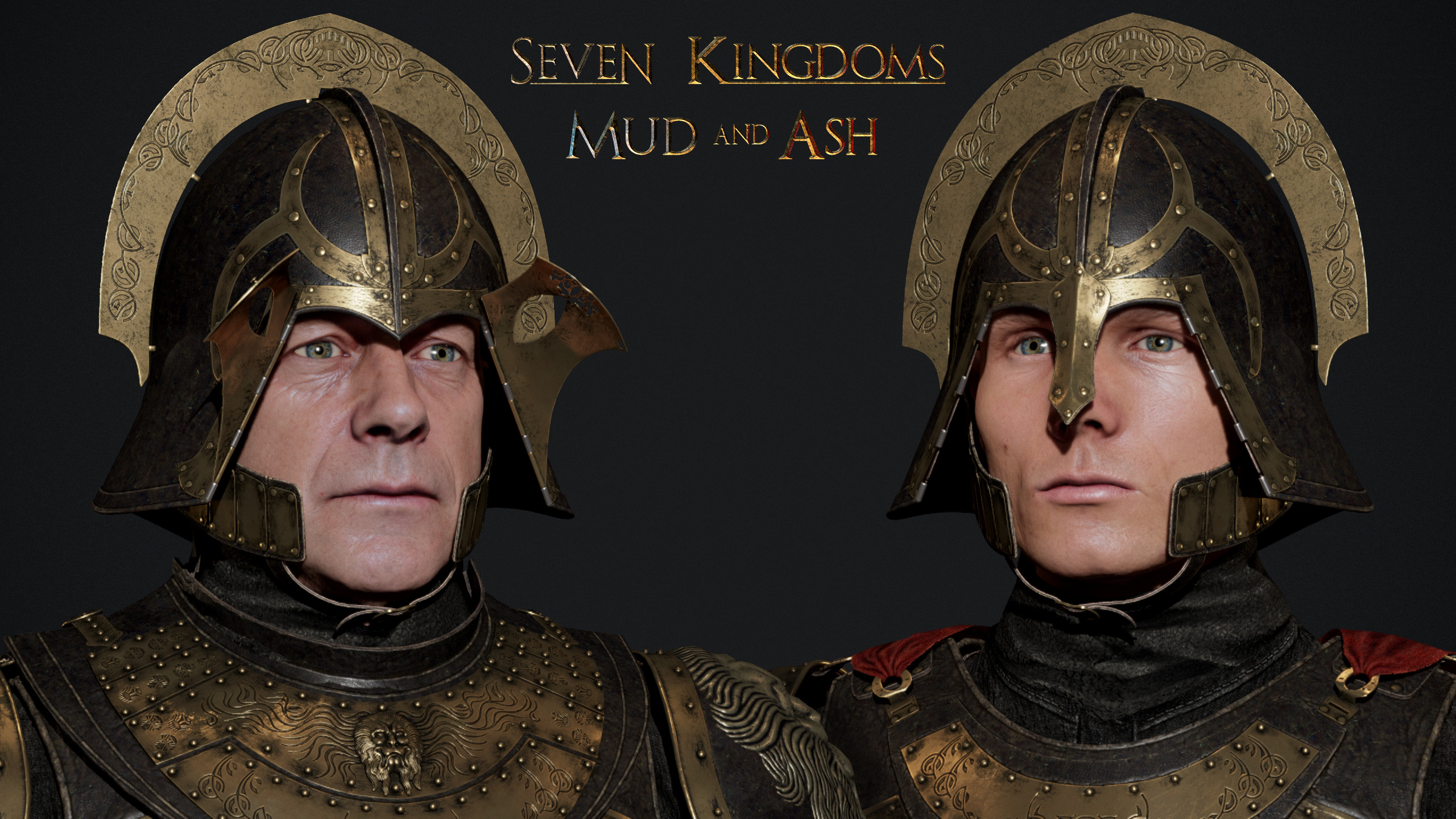 Helmet has two variants. The one visors  was based on design from earlier seasons. The lighter one can be seen in later seasons.