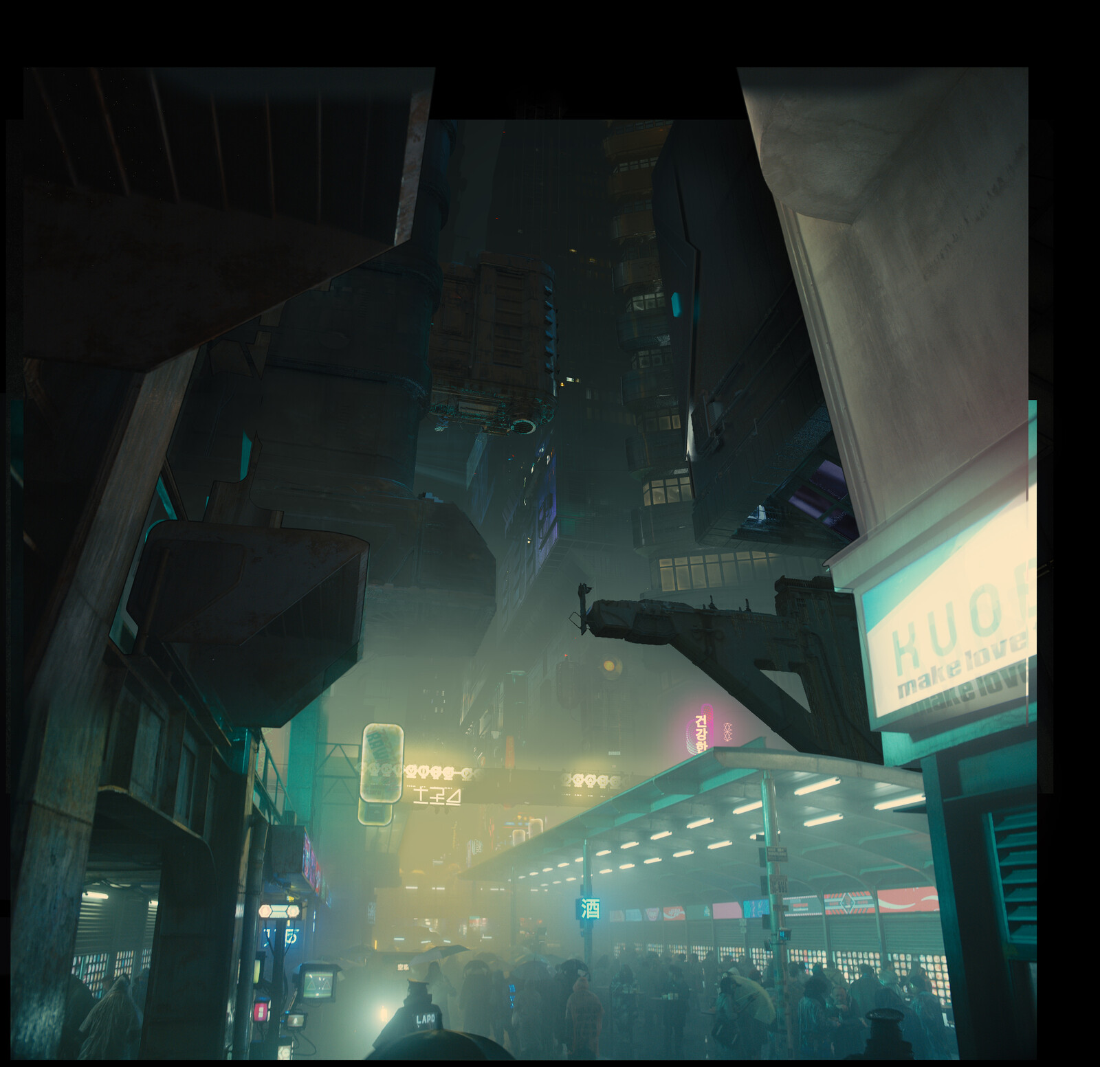 Blade Runner 2049 Art Direction for Atomic Fiction
