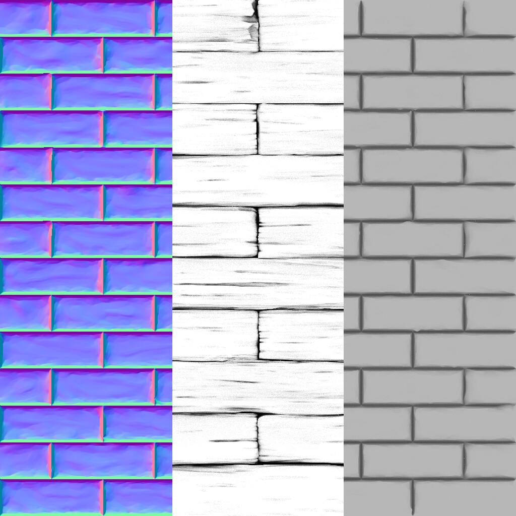 Brick (Original Base Colour Missing)