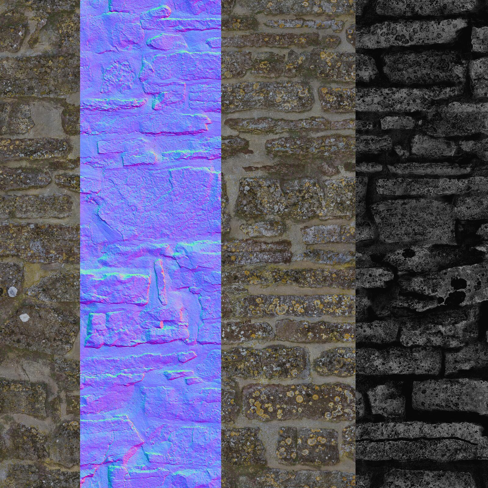 2048x2048 texture, 1024 p/m texeleration, Tile technique