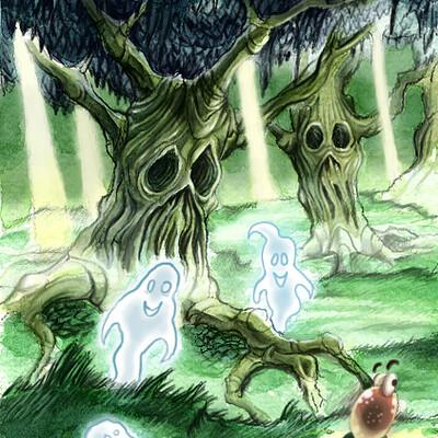 Miha rinne ghost tree