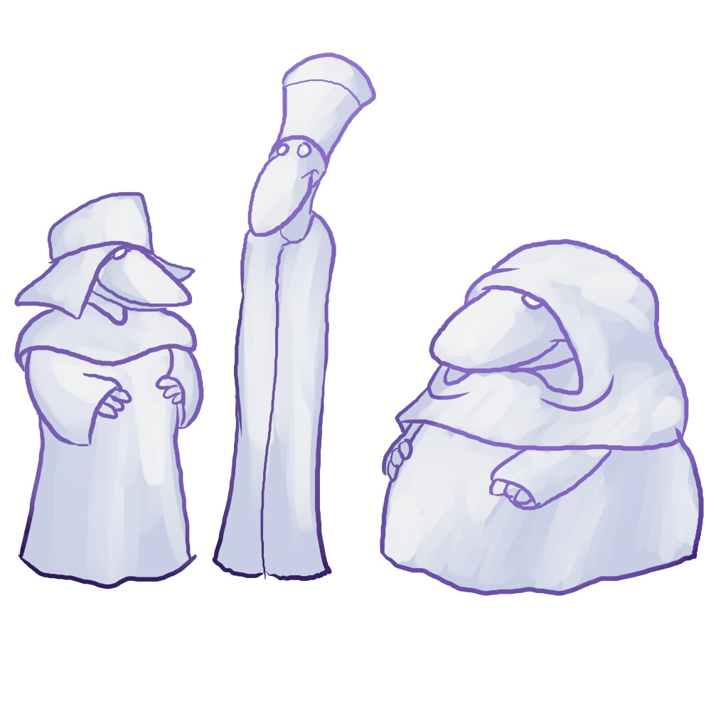 Three mothers of ghosts, final design