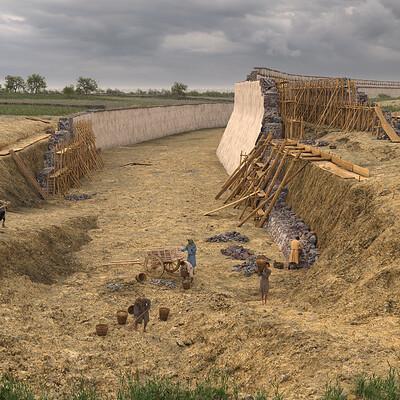 Ralph eggers freiburg wall construction site ralph eggers 2019