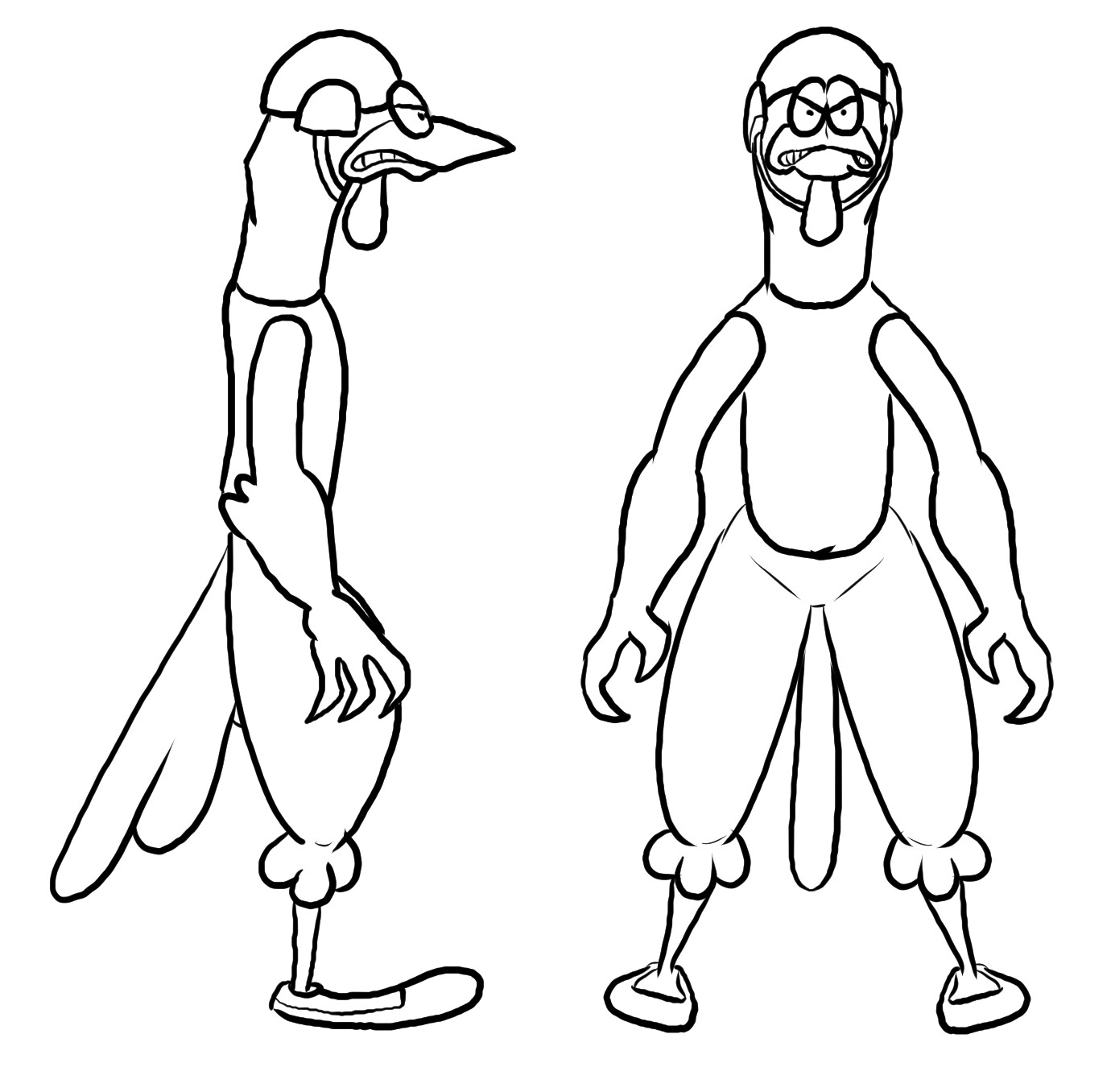 Modeling reference for chicken