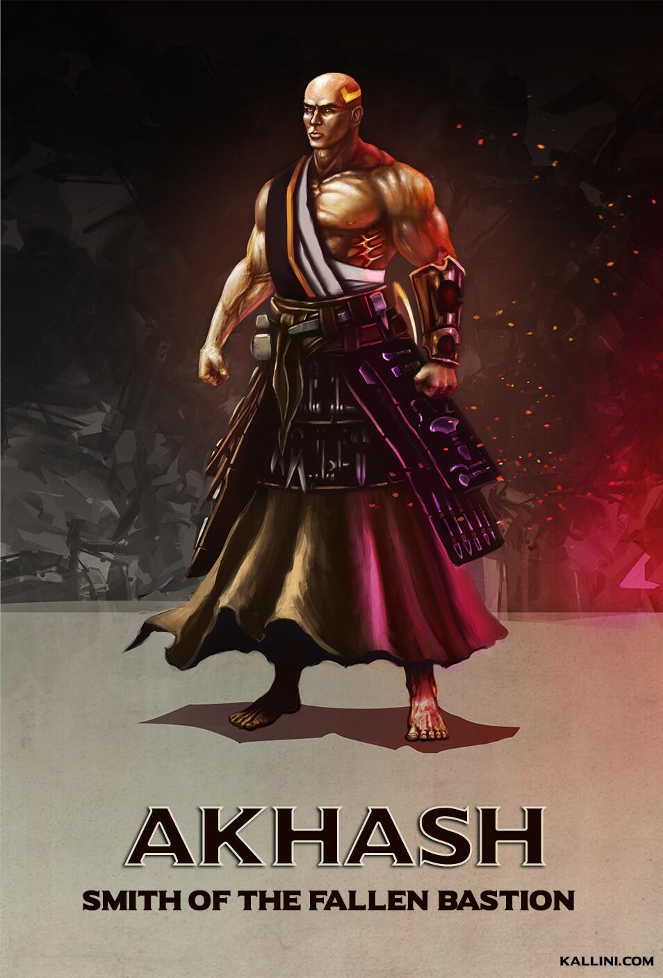 Akhash, the Smith