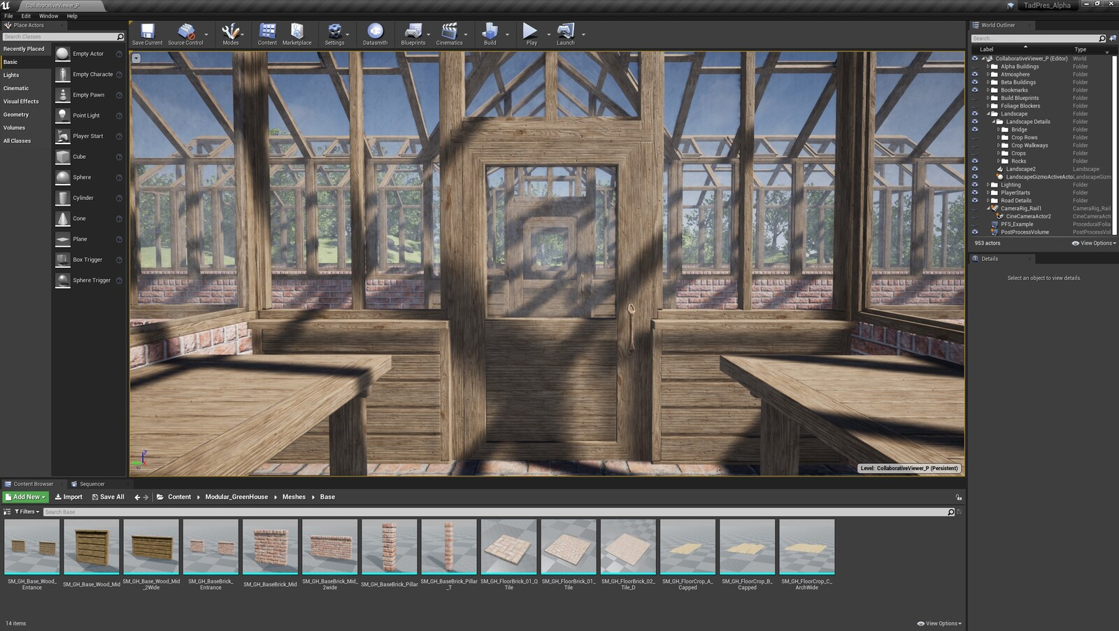 The fourth angle for the TAD Presentation Greenhouse (Modular Version)