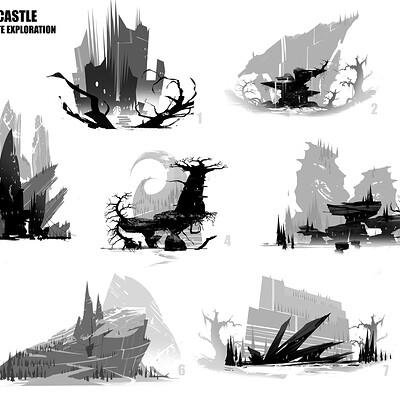 Virgil loth silhouette caste mountain01