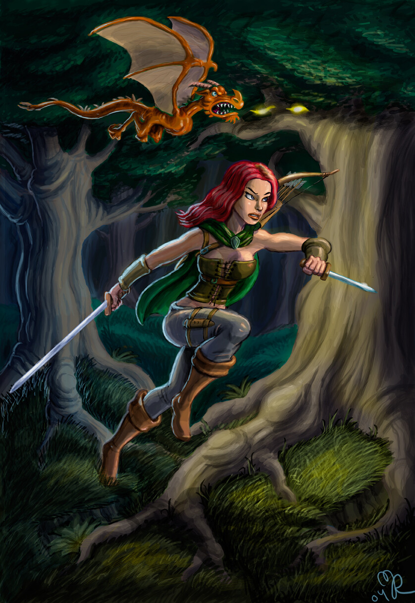 Cover art for tähtivaeltaja (originally commission from Gameloft)