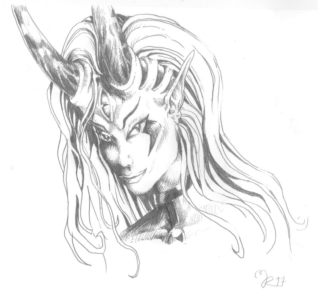 Gwendolyne portrait