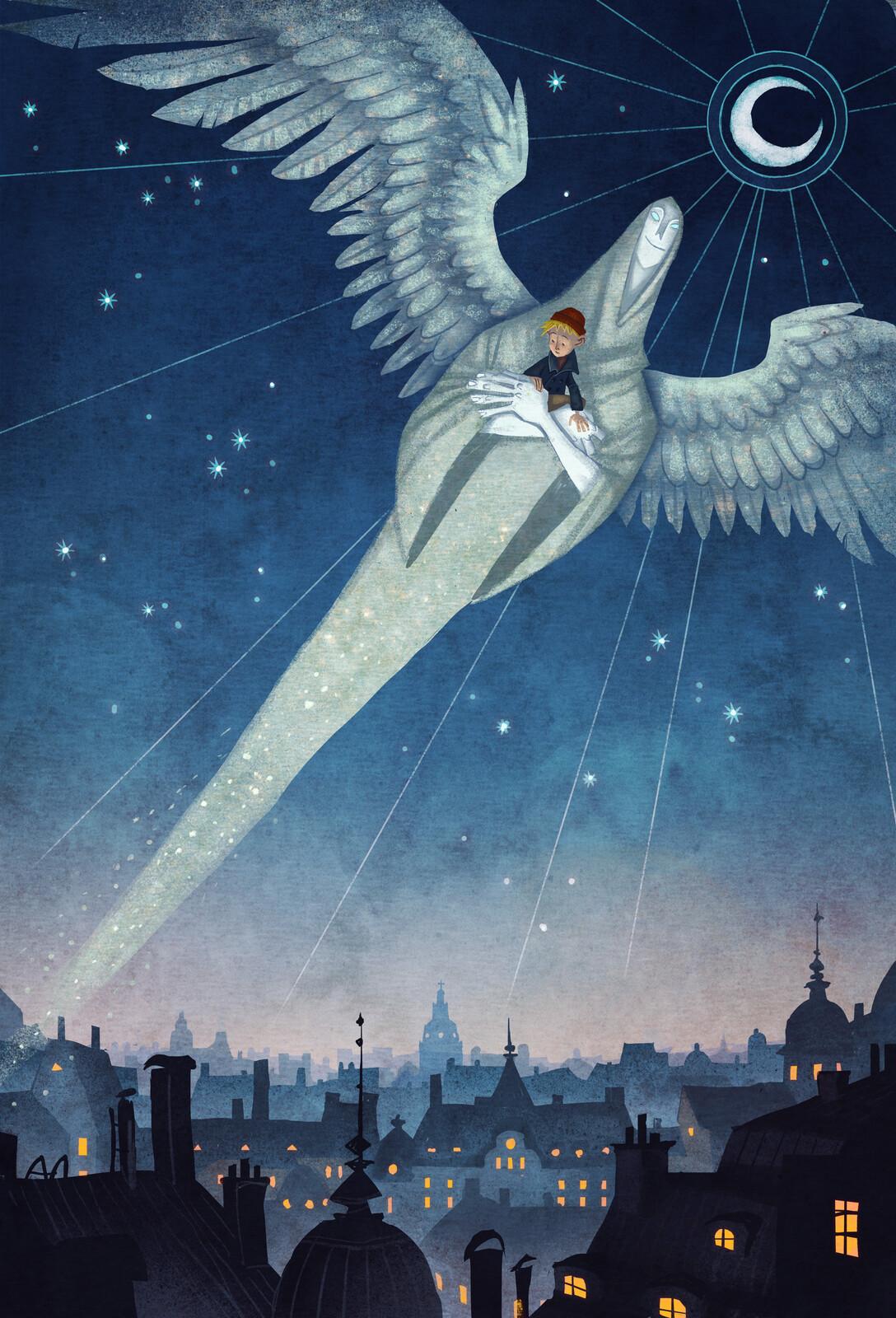 """""""The Spirit"""" - from Mio min Mio / Mio my Son by Astrid Lindgren"""