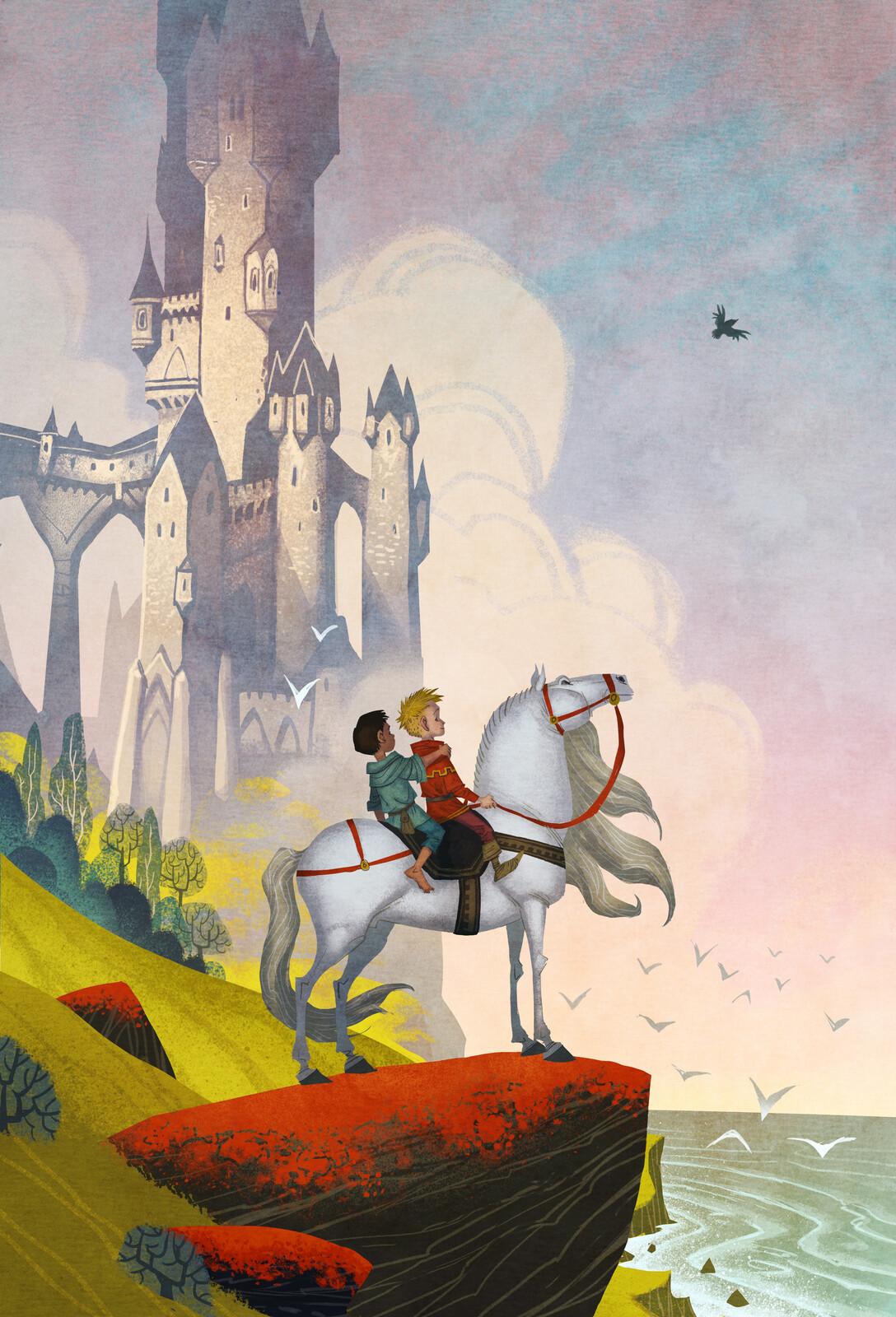 """""""The Land Faraway"""" from Mio, min Mio / Mio my Son by Astrid Lindgren"""