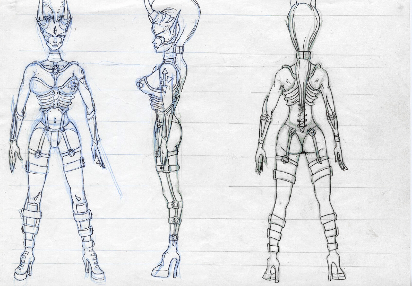 Gwendolyne modeling reference