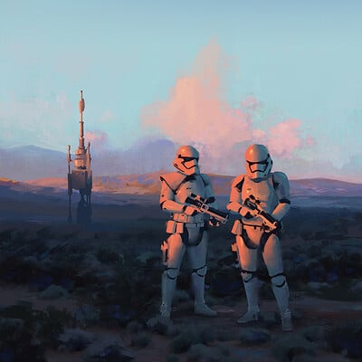 Anthony eftekhari sunset trooper web
