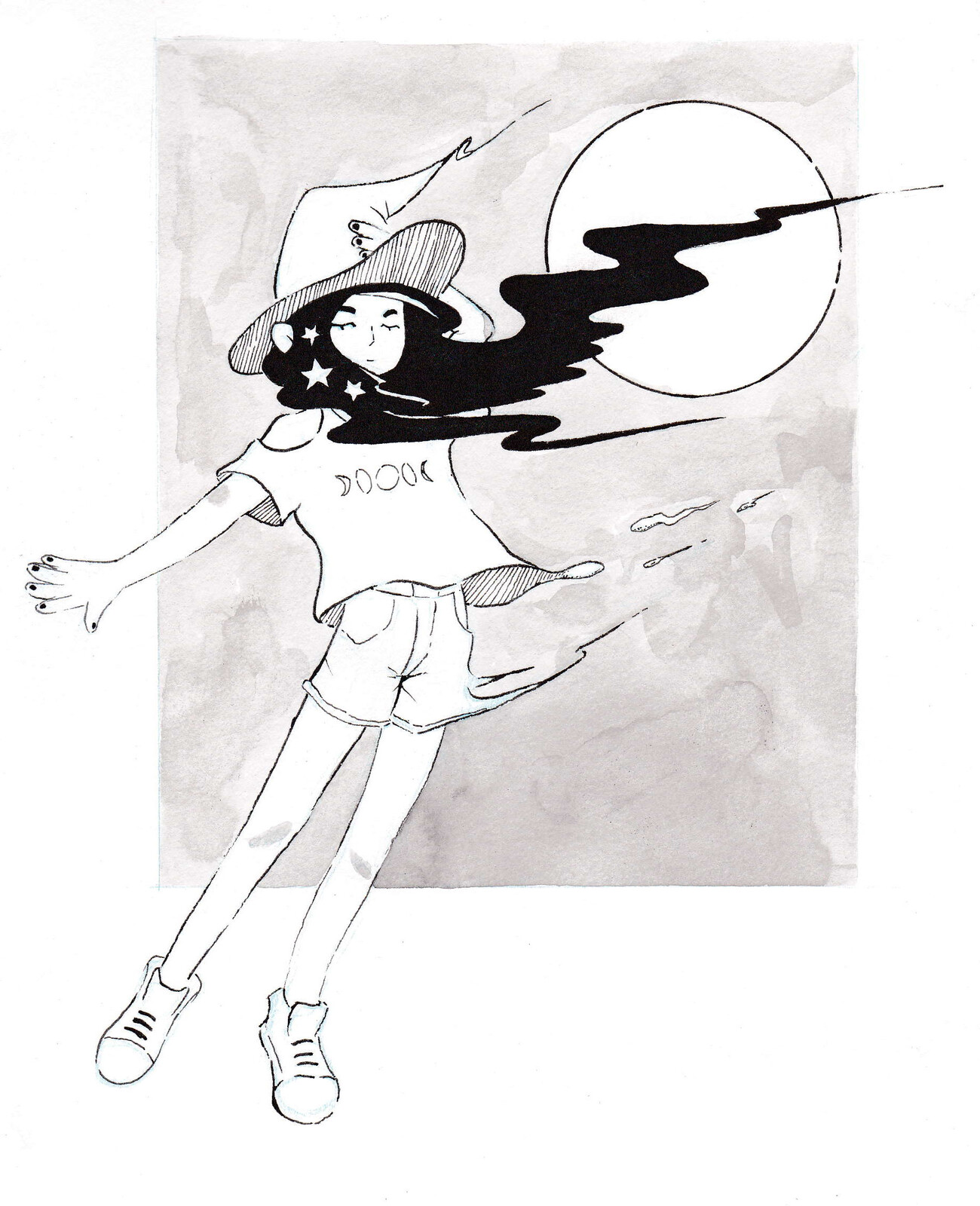 Misty Moon Witch
