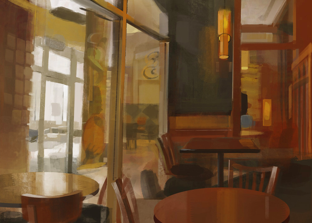 Interior Study at Panera