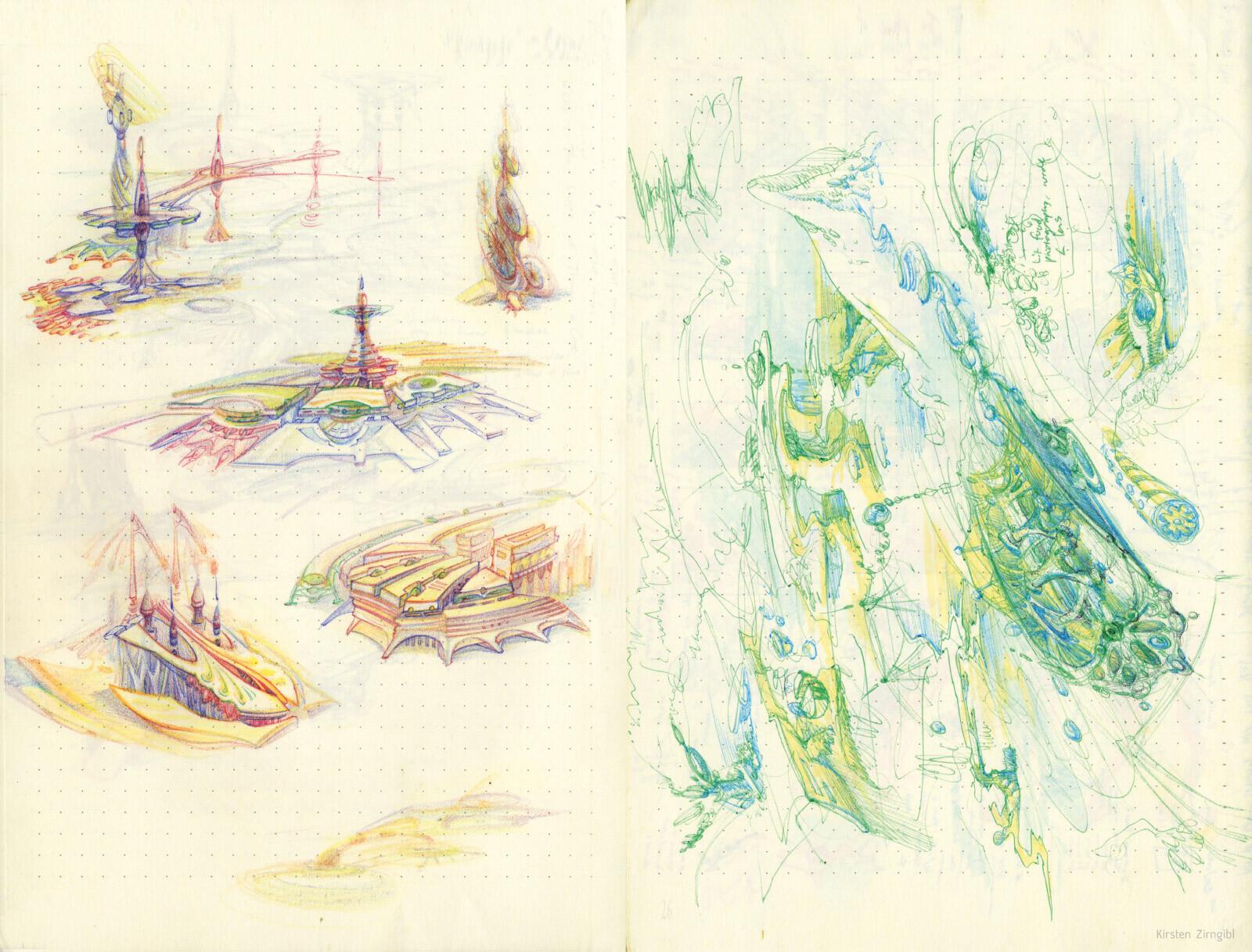 Brainstorming Sketchbook Collection (Part 2)