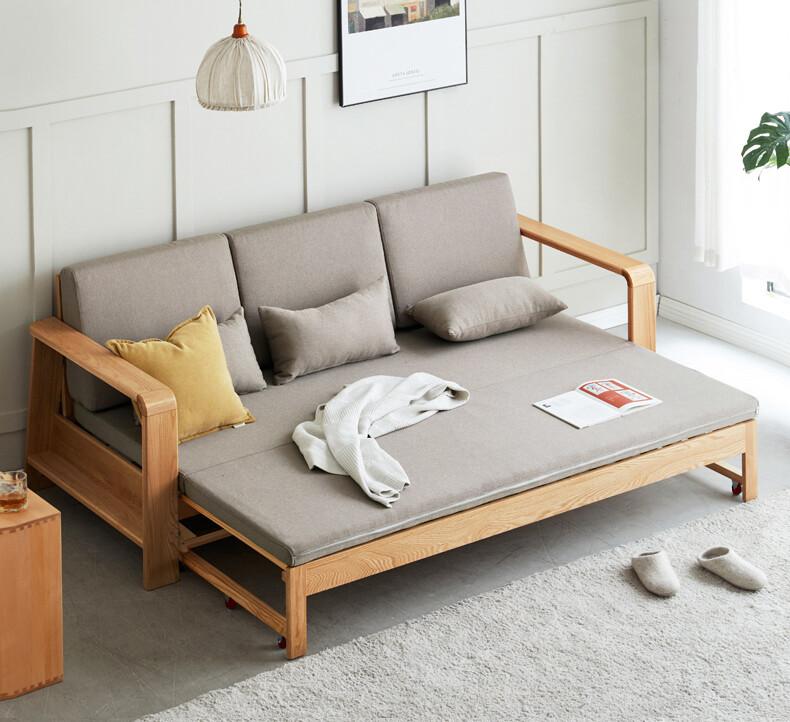 sofa giường gỗ thông minh