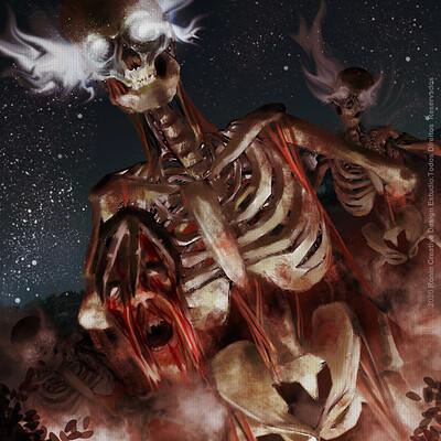 Eduardo lucas skeleton warriors