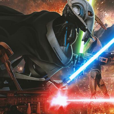 Andreas bazylewski art general grievous the droid army