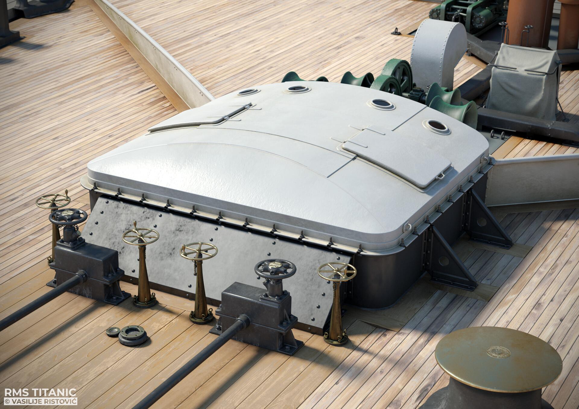 Montage Titanic Trumpeter 1/200 - Page 10 Vasilije-ristovic-hatch-1