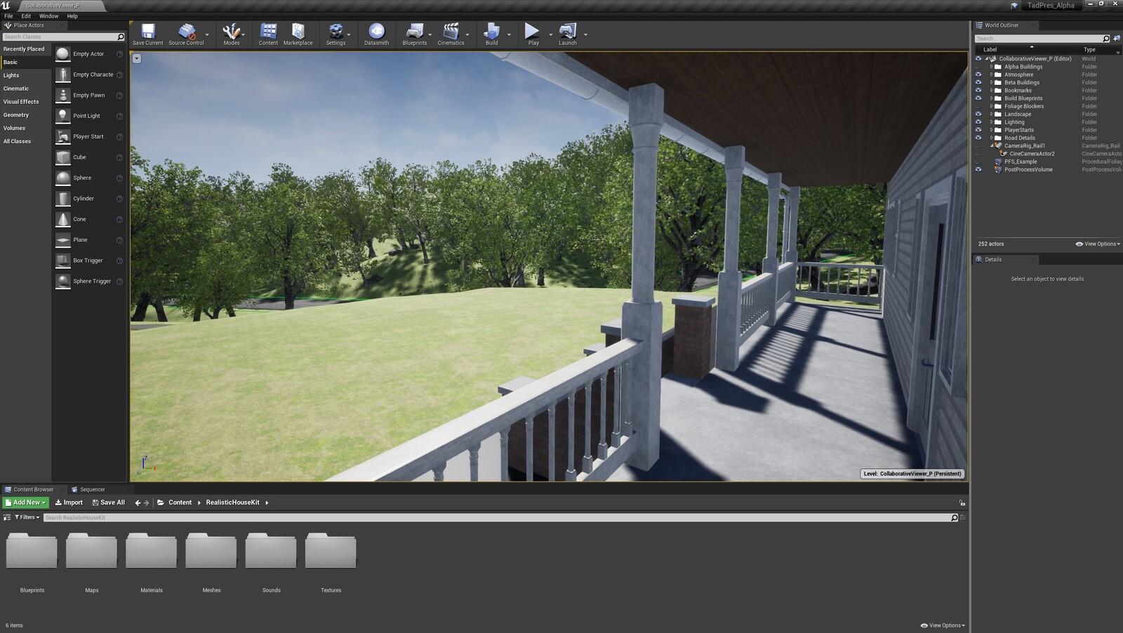 The third angle for the TAD Presentation Farmhouse (Modular Version)