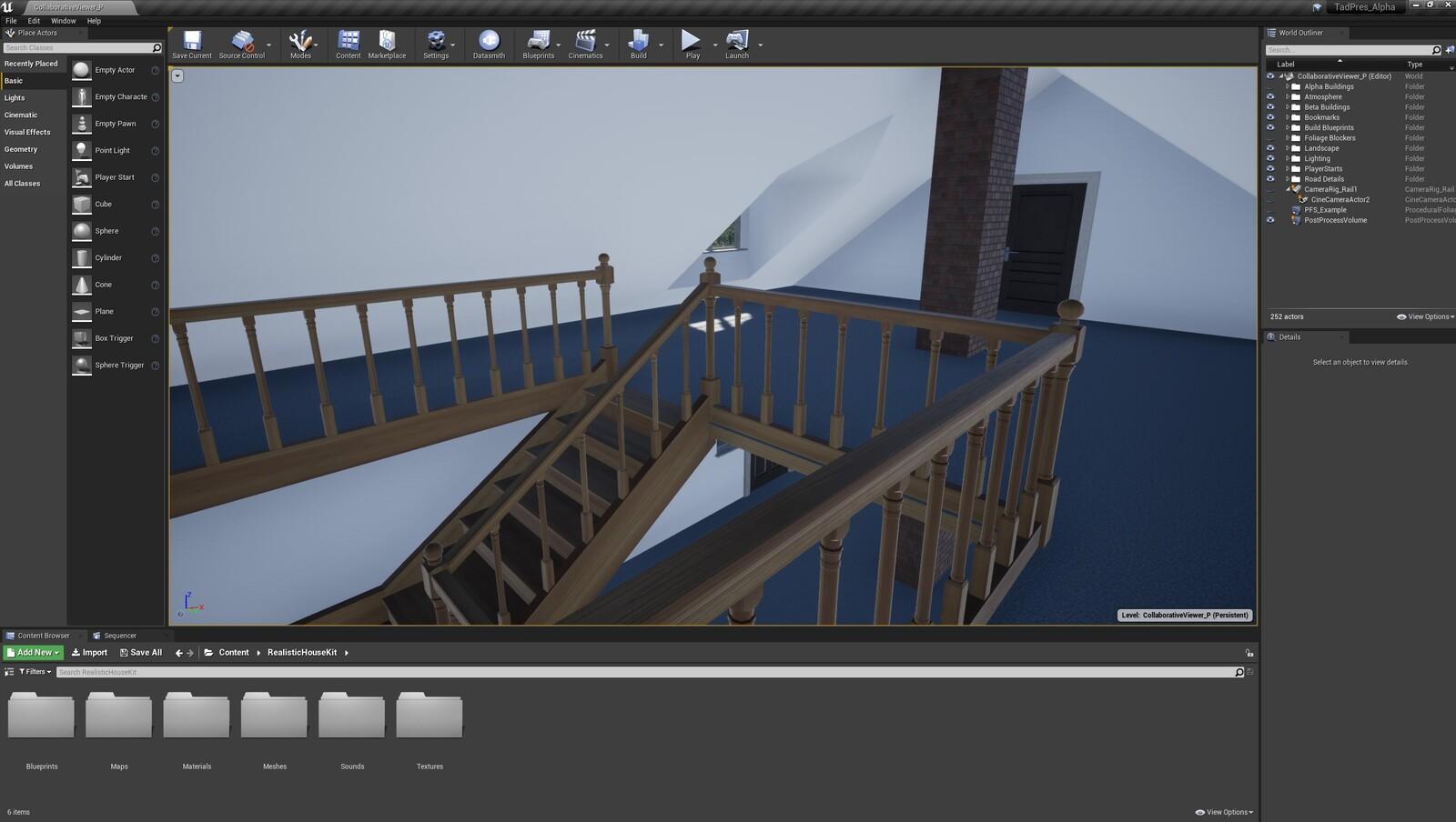 The fifth angle for the TAD Presentation Farmhouse (Modular Version)