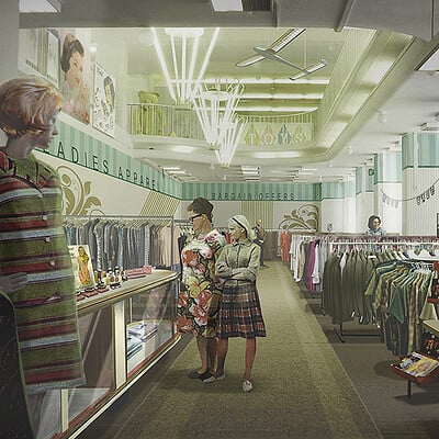 Thomas mohring tm 3 department store