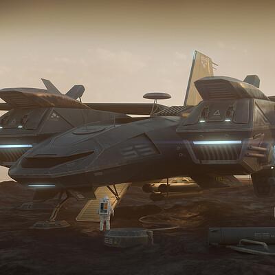 Encho enchev spaceship concept 1