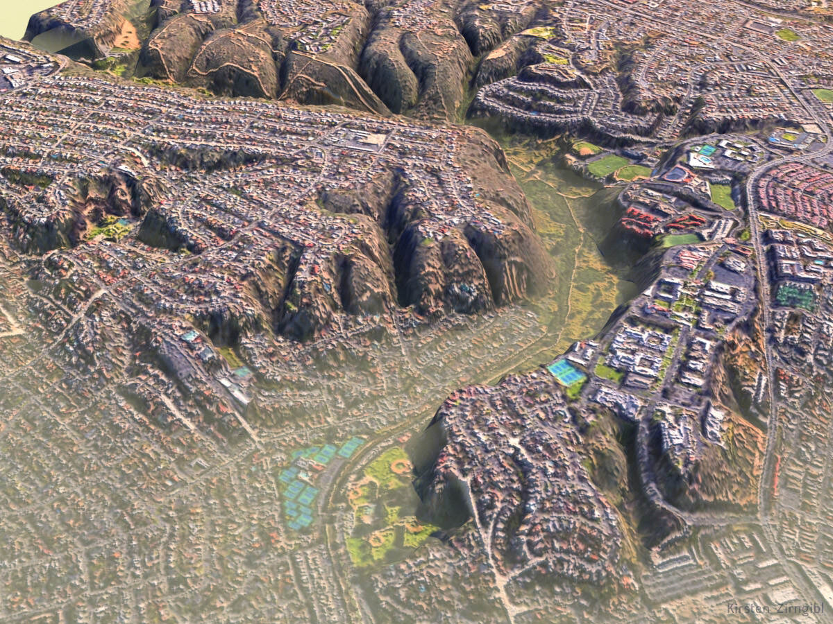 Inhaling OpenStreetMap data into 3DS Max.