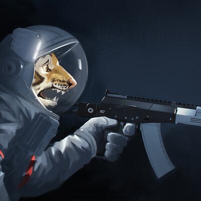 Shoji ushiyama astronaut resistance sm
