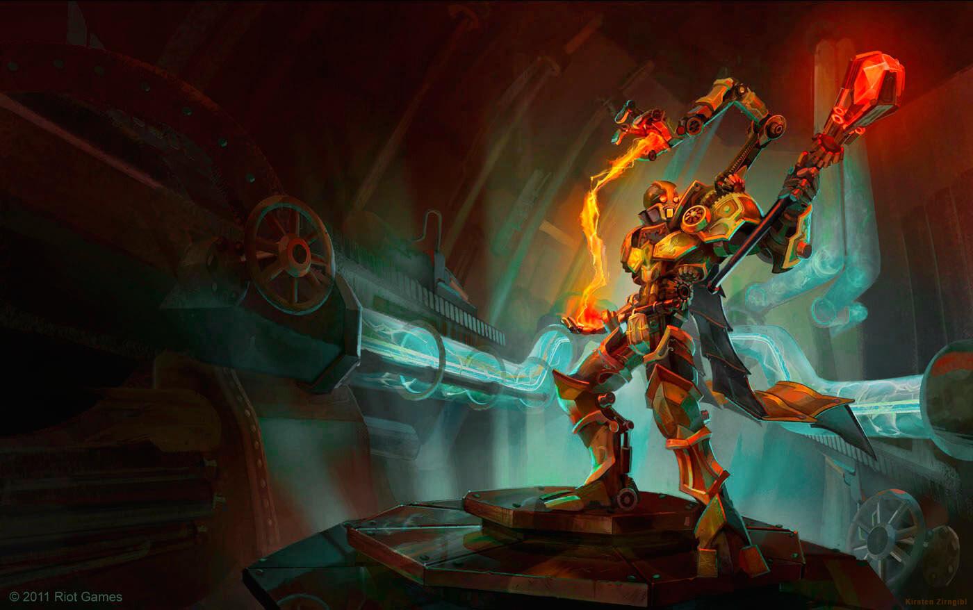 Riot Games Splash Art and Concepts