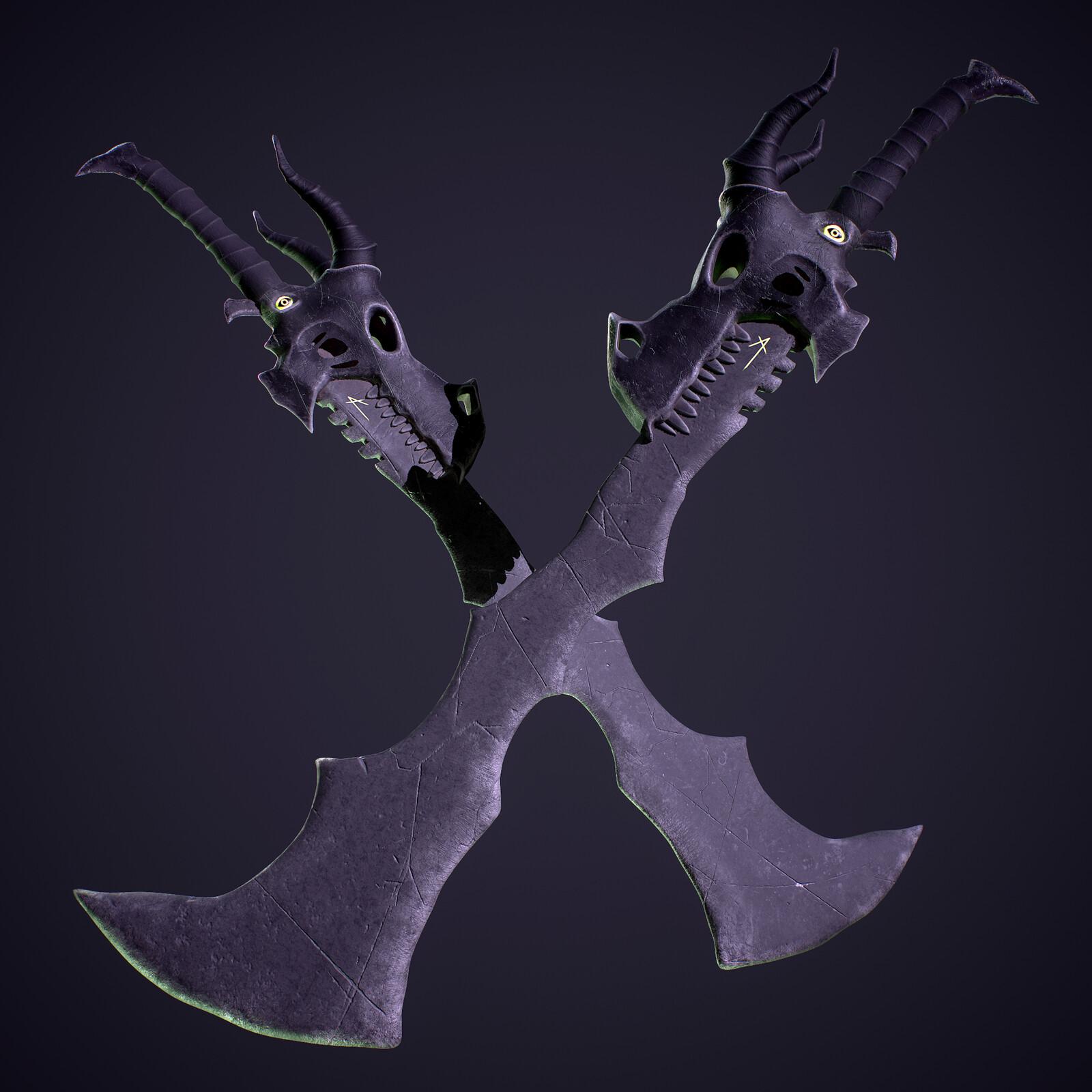 Devourer Great Sword (Concept by Dejan Mihaljevic)