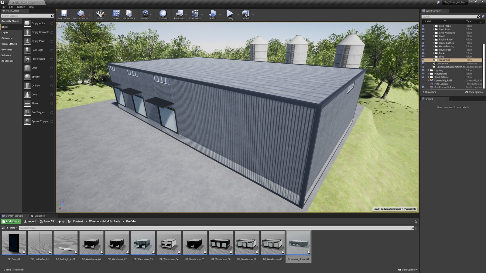 The third angle for the TAD Presentation Facility (Modular Version)