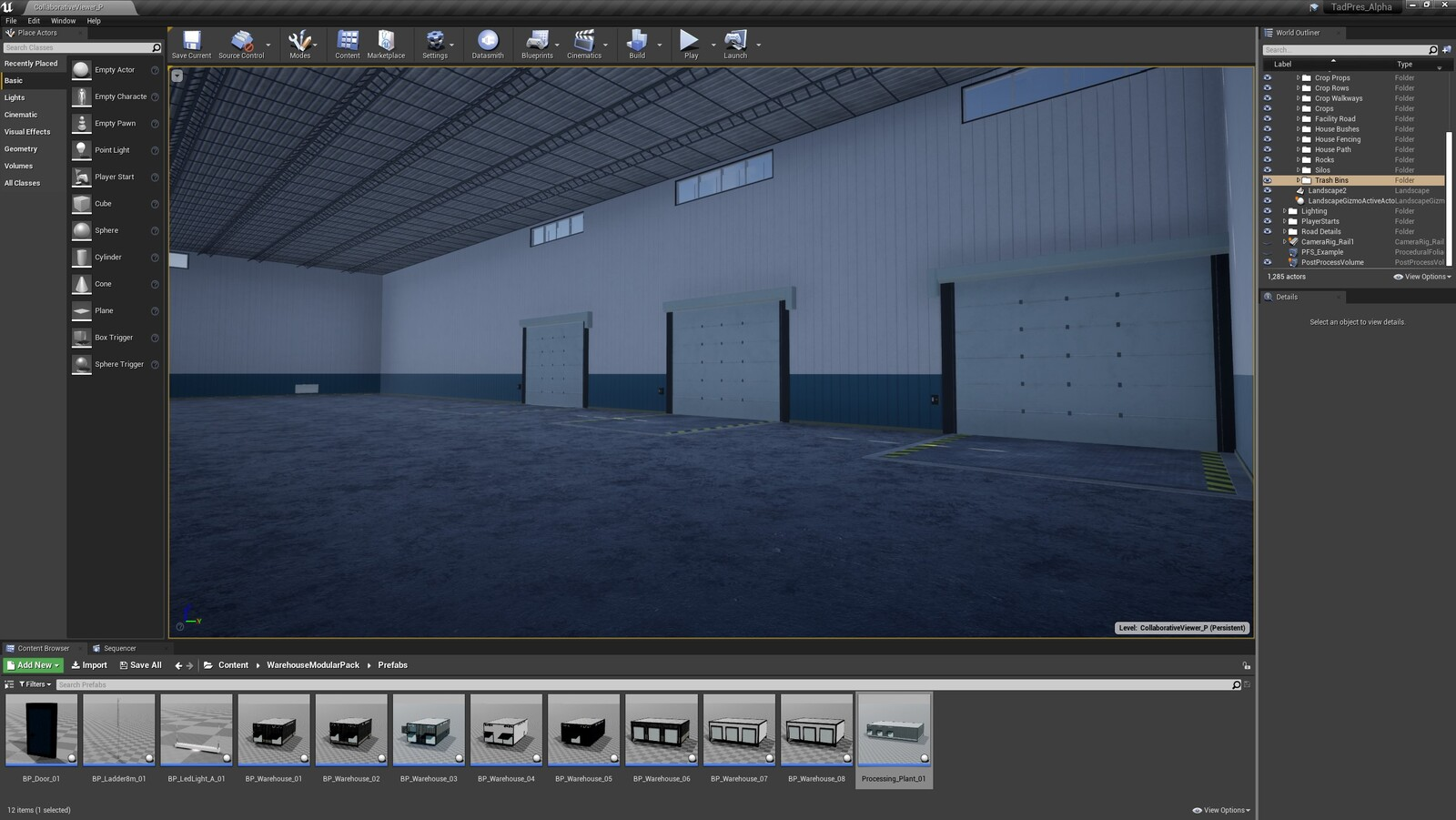 The fourth angle for the TAD Presentation Facility (Modular Version)