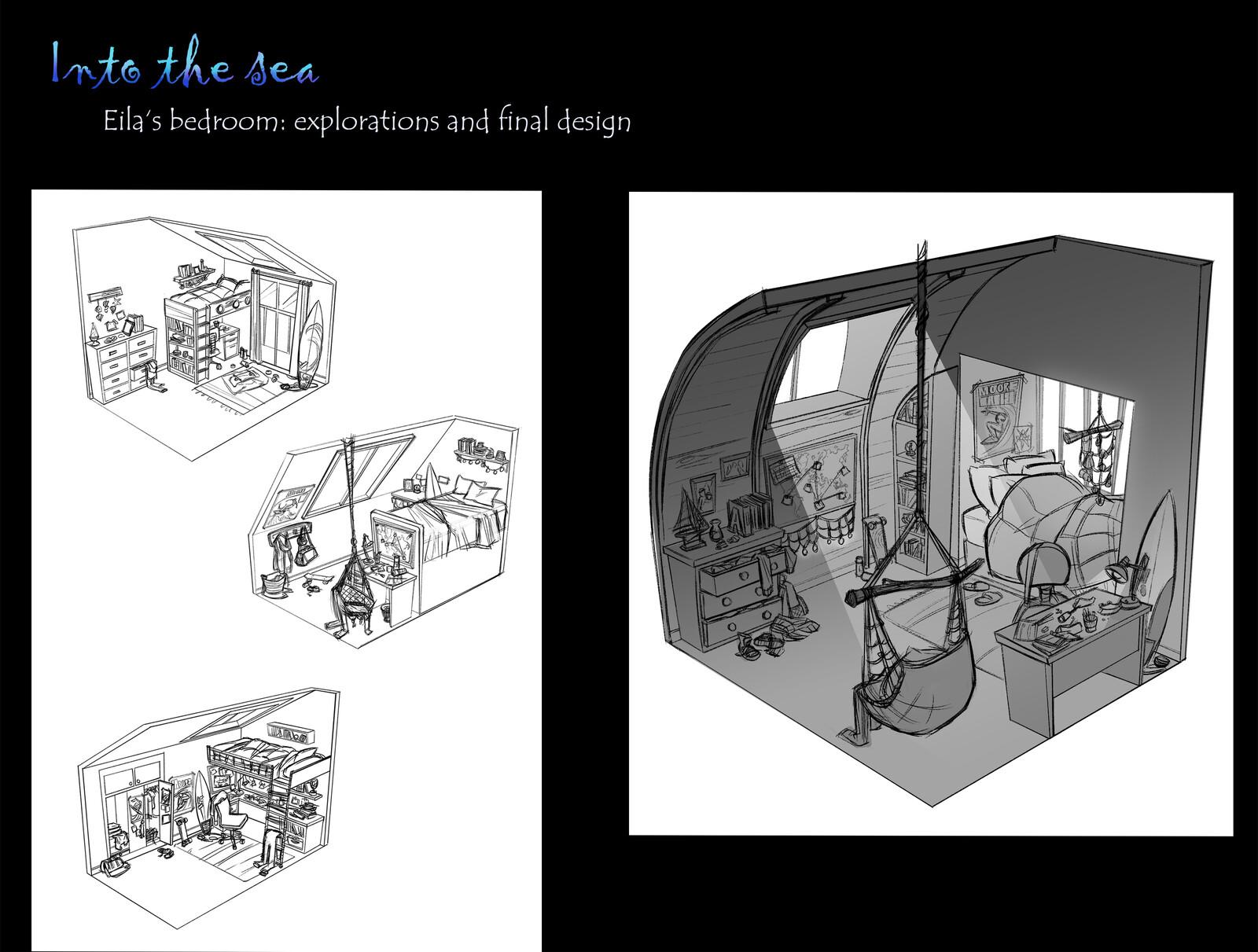 Set design: sketches