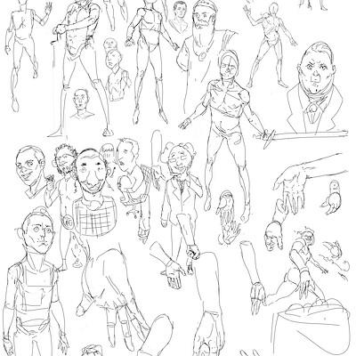 Itamar sketches 1