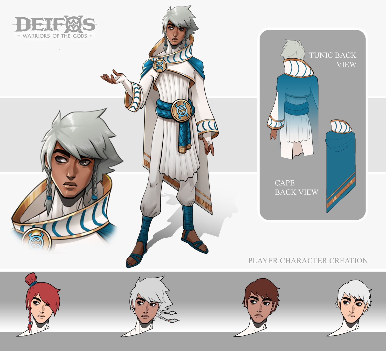 Deifos Player Character - Male