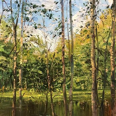 Near the river