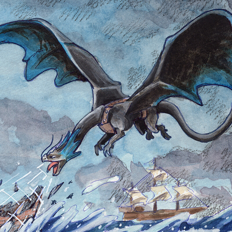 Temeraire and the Divine Wind