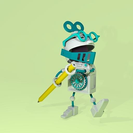 Robot, 3D character design